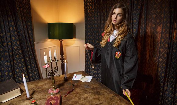 Getting in Hermione's Robes