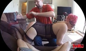 Reive OTK Spanks Little Fox