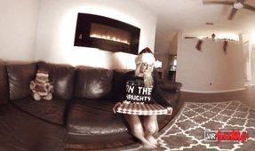 VR Christmas - Vrgirlfriend Natasha