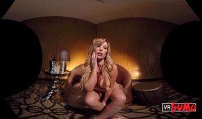 VR Strip Club: Hot Blonde Tasha Reign  Dances for You