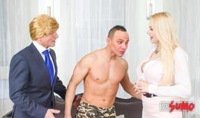 Vladimir Loves Putin it in Melania Trump